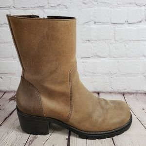 Tommy Hilfiger Zip Up Boots Womens 7.5 Shoes